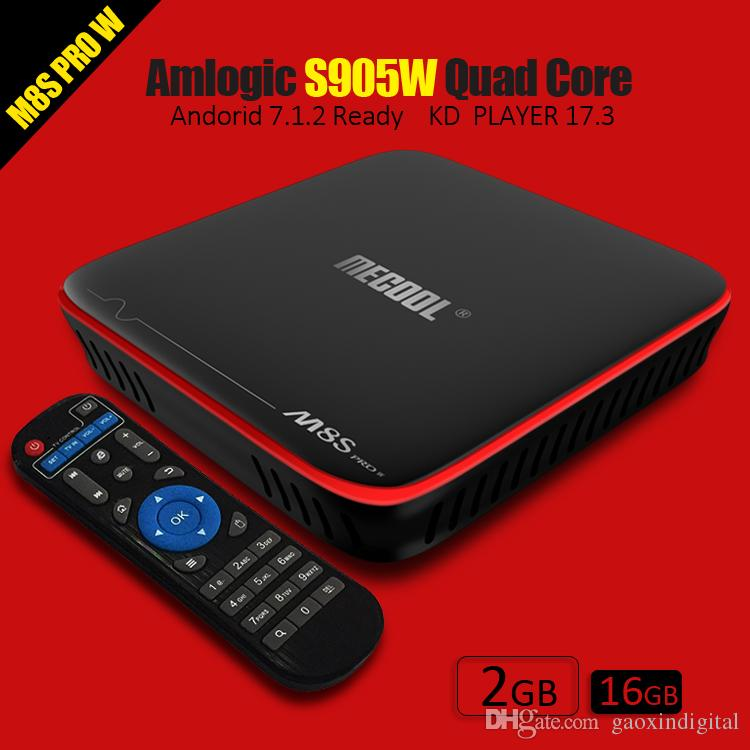 Mecool S905W Android Tv Boxes 2018 Best 2gb 16gb Iptv Box